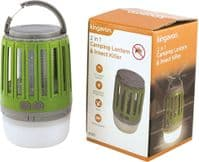 CAMPING LANTERN INSECT KILLER UV ZAPPER RECHARGEABLE GARDEN LED TRAP REPELLENT